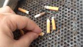 160 cigarettes ramassées à la minute