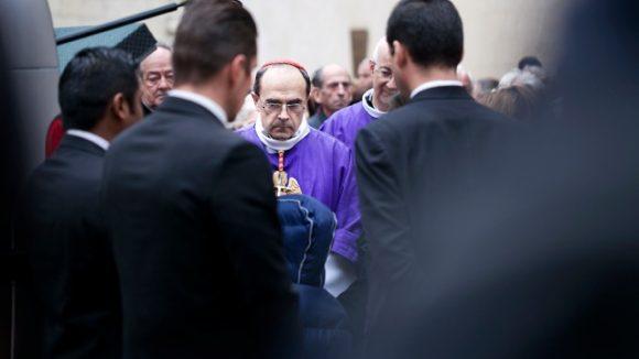Philippe Barbarin obsèques Caroline Prénat 291