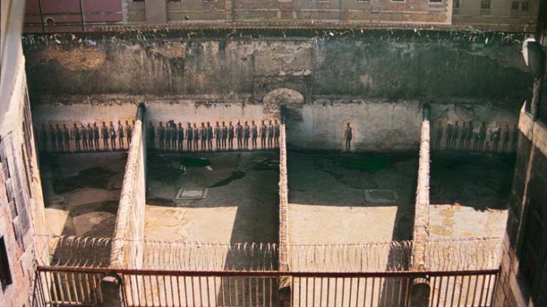 Ernest Pignon Ernest prison 1