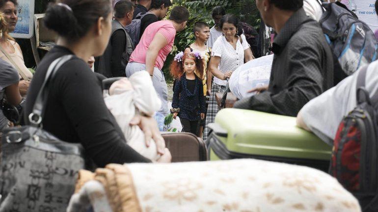 Un camp de Roms de l'agglomération lyonnaise
