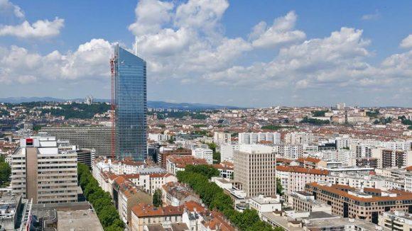 Vu de Lyon