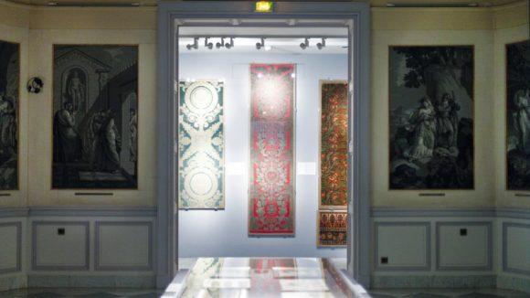 Portfolio musée des tissus