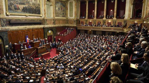 François Hollande Congrès Versailles 16.11.15 AFP