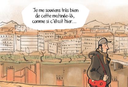#Charlie un an après Détail une BD Yan Le Pon