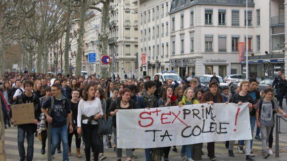 manifestation lycéens