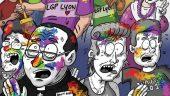 affiche marche des fiertés LGP LYON