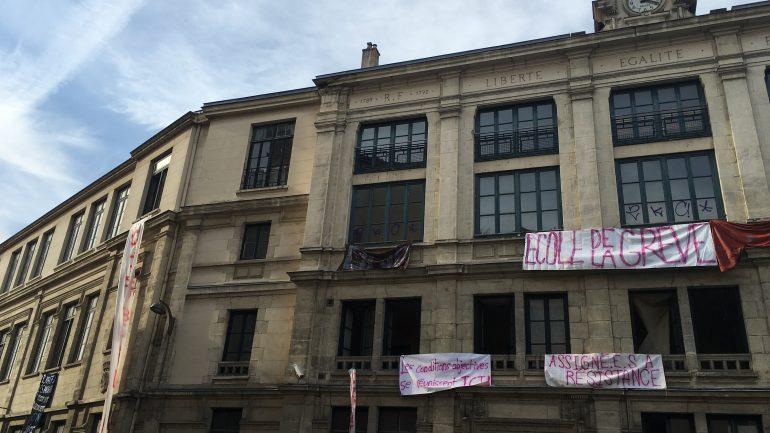 Ecole occupée 1er arrondissement