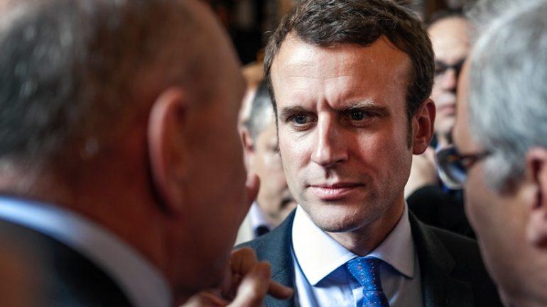 Emmanuel Macron à Lyon