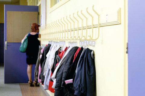 Ecole primaire vestiaire Vénissieux 2014