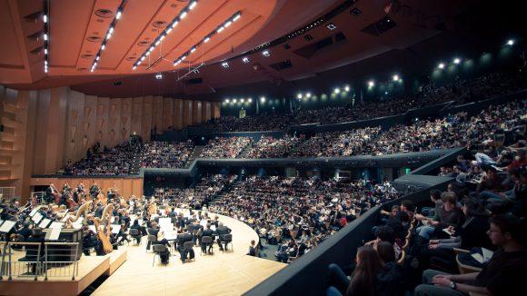 Auditorium salle et scène
