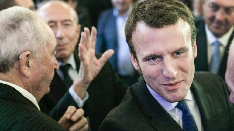 Gérard Collomb Emmanuel Macron 273