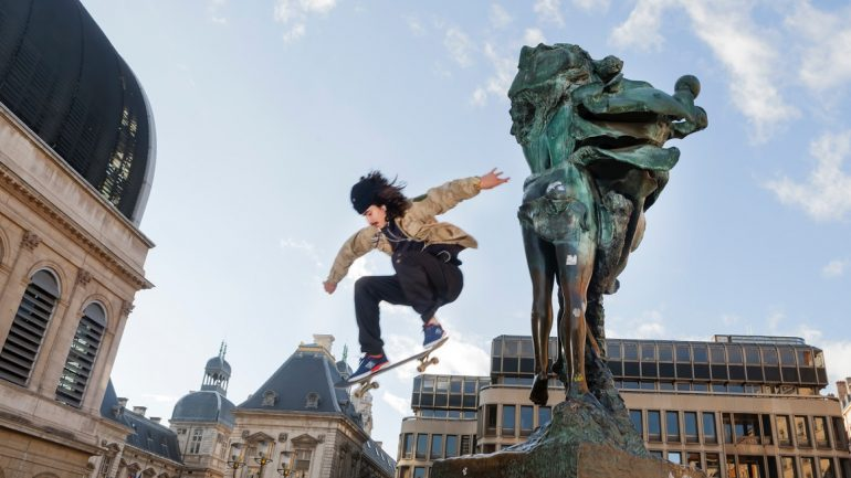 skateur à Lyon