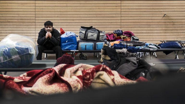 Réfugiés albanais plan Grand Froid janvier 2017 © Tim Douet_0047