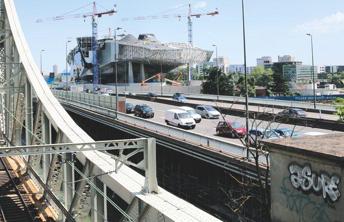 pont Mulatière musée Confluence circulation