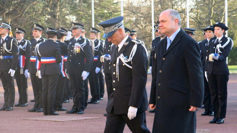 Bruno Le Roux au baptême de la 68e promotion de commissaires de police