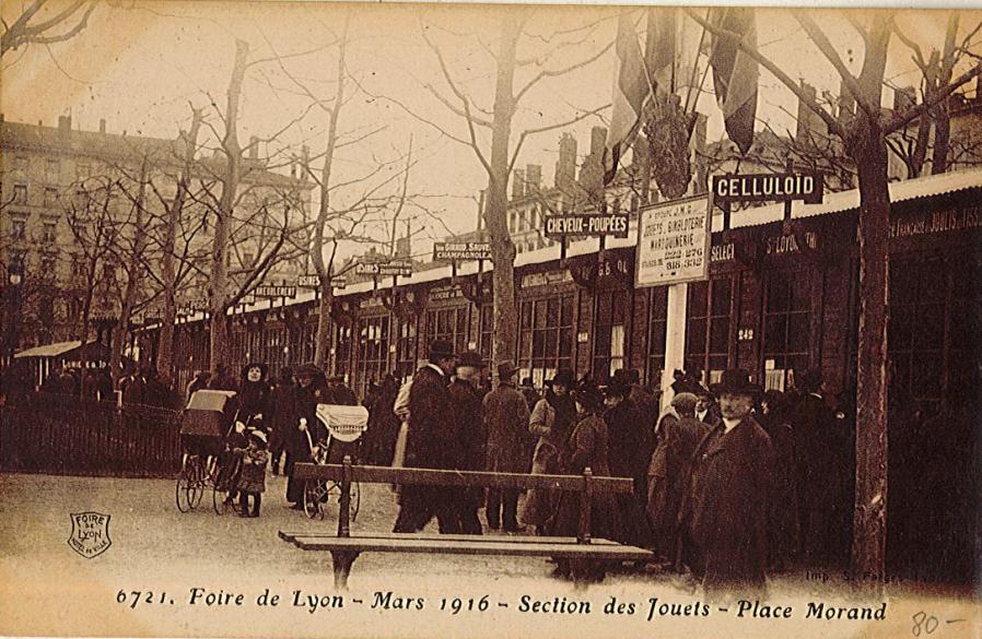 A s 39 est pass lyon un 1er mars la premi re foire de lyon en 1916 - Entree gratuite foire de lyon 2017 ...