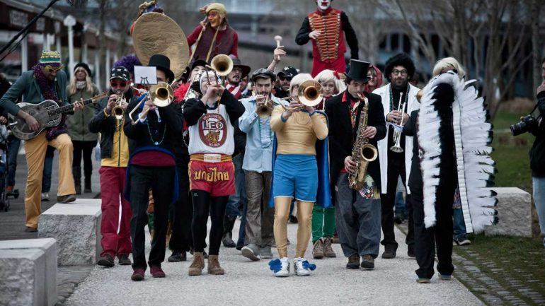 A Vaulx Jazz 2017 carnaval New Orleans