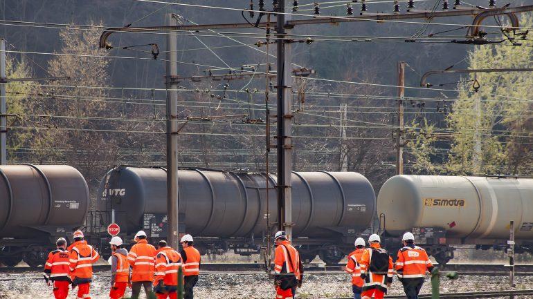 Accident de train SNCF FRET