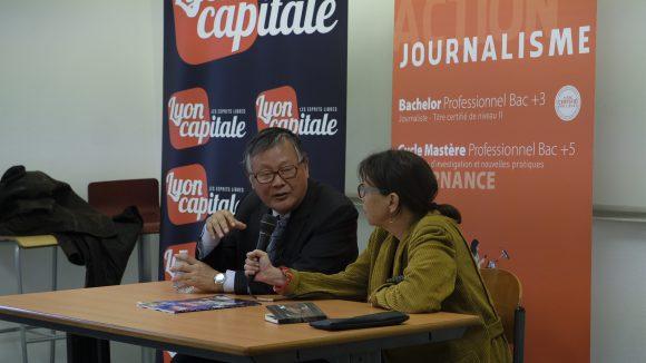 Wei Jingsheng à l'ISCPA