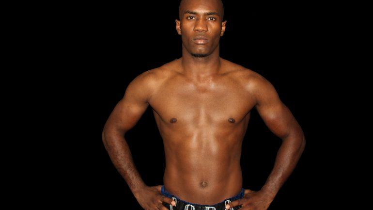 Le boxeur Michel Soro