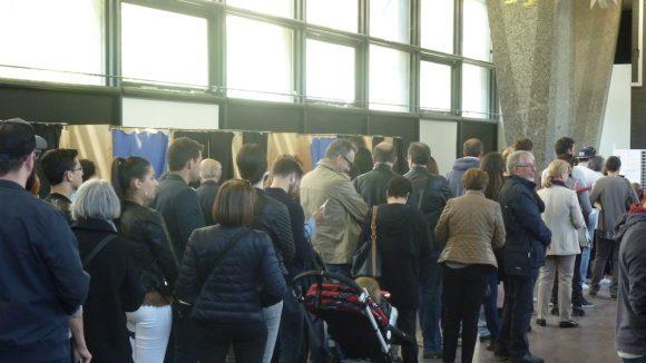 Bureau de vote Lyon 8e présidentielle 2017