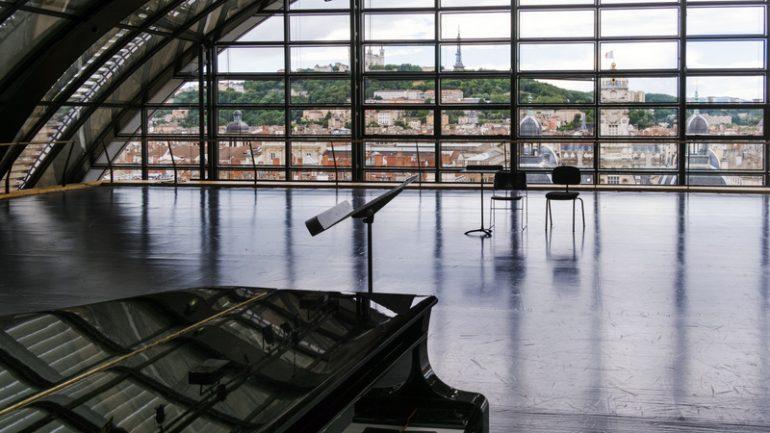 Opéra ballet vue de Lyon