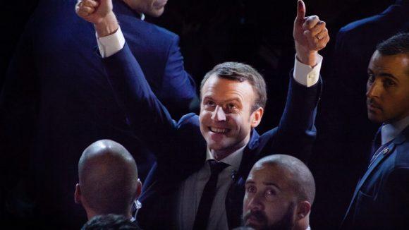 Emmanue Macron vainqueur