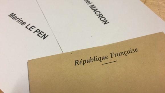 vote présidentielle 2017 bulletins