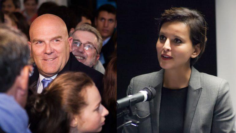 Najat Vallaud-Belkacem / Bruno Bonnell