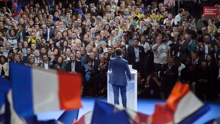 Meeting Macron Lyon février 2017