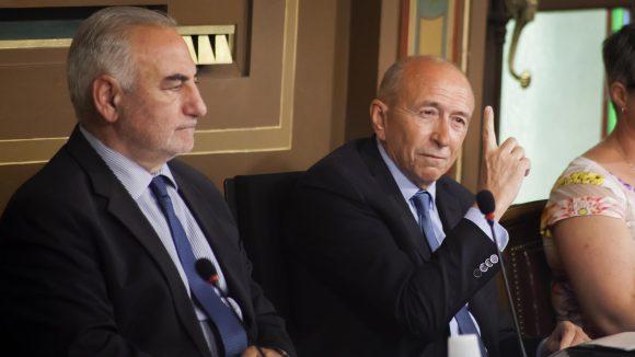 Conseil municipal Gérard Collomb ministre de l'Interieur