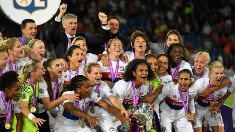 OL Féminin remporte la Ligue des champions 2017