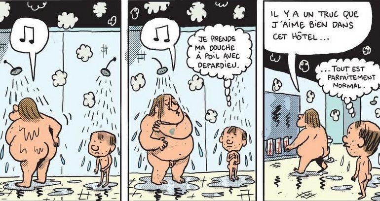 Mathieu Sapin détail Gérard