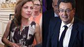Blandine Brocard et Philippe Cochet