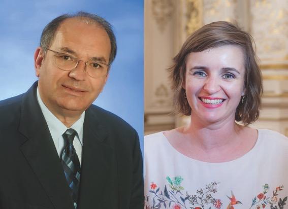 Marion Croizeau et Bernard Perrut