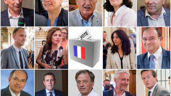 Montage 14 députés du Rhône 18 juin 2017