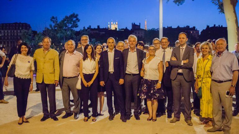 Les députés LREM du Rhône, en juin 2017 © Tim Douet