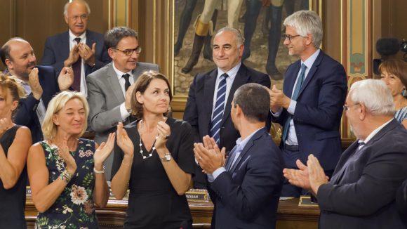 Georges Képénékian élu maire