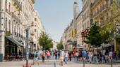 rue de la République piétons piétonne