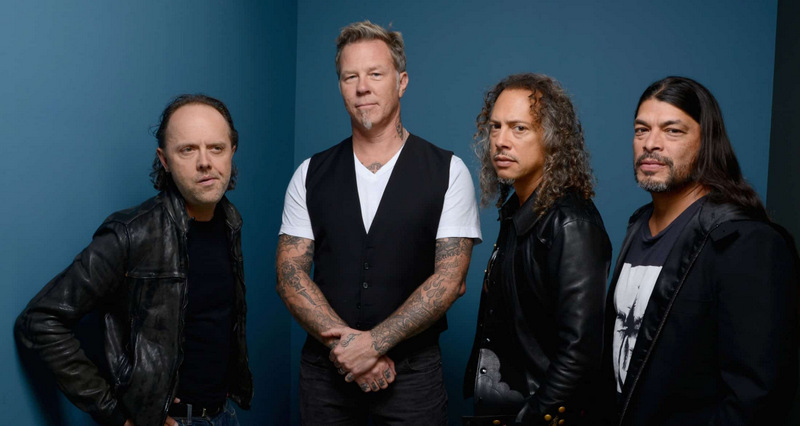 Le groupe Metallica © DR