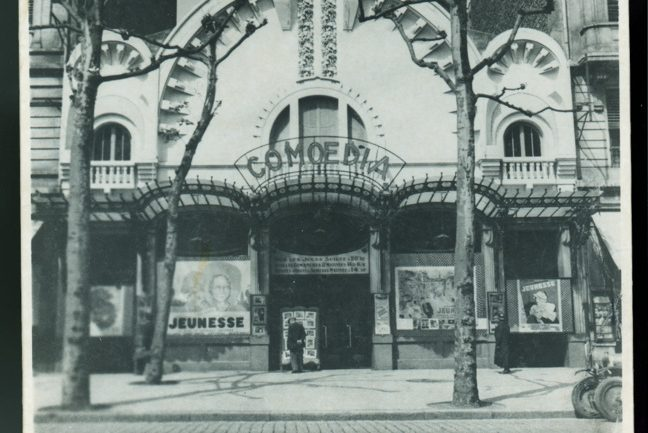Comœdia ancienne façade cinéma 1922-1924