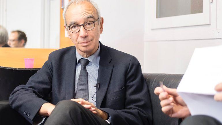L'économiste Jean Pisani-Ferry, à Lyon, en novembre 2017 © Tim Douet