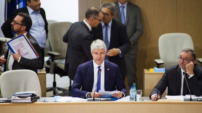 Laurent Wauquiez conseil régional région Etienne Blanc