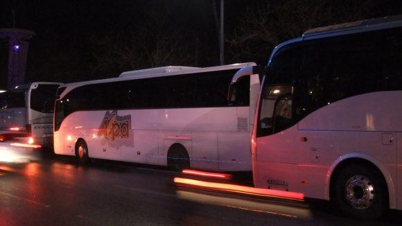 Bus de tourisme quais du Rhone