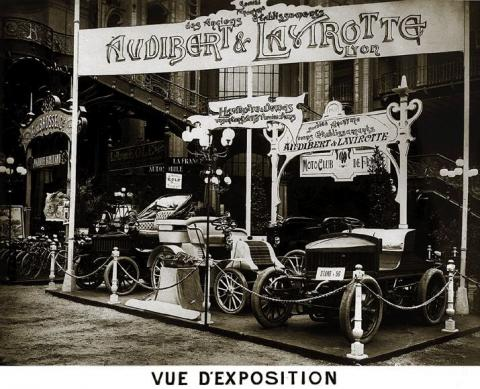 Audibert & Lavirotte automobile Lyon