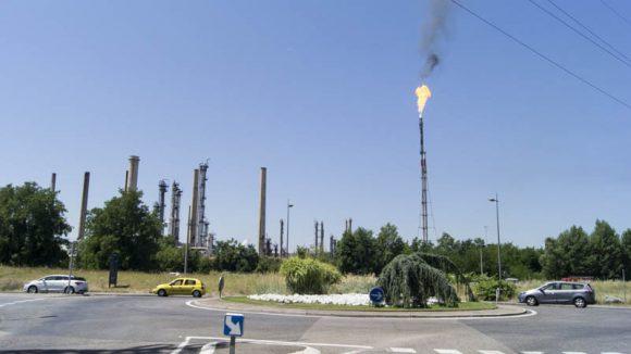 raffinerie de Feyzin