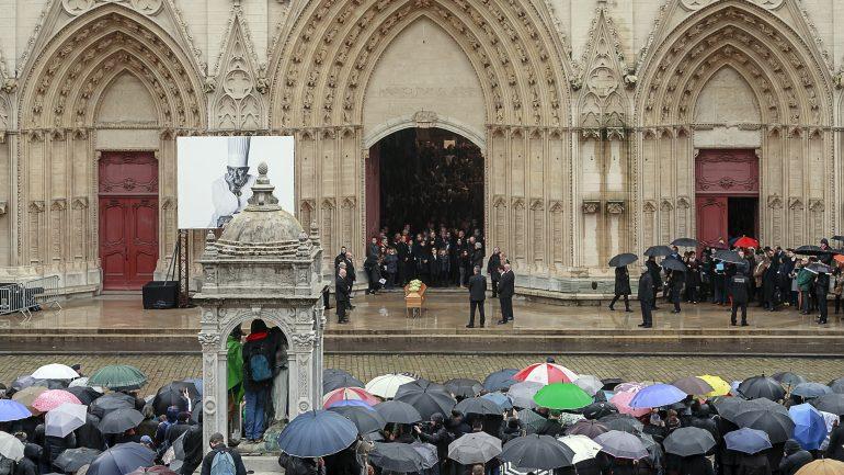 Obsèques de Paul Bocuse à la cathédrale St jean