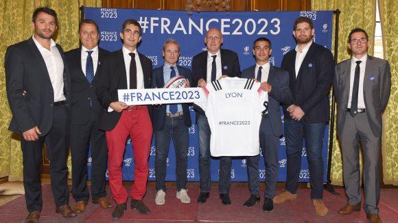 La délégation France 2023 en compagnie de Yann Cucherat