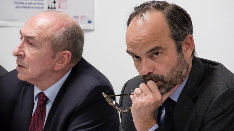 Edouard Philippe et Gérard Collomb