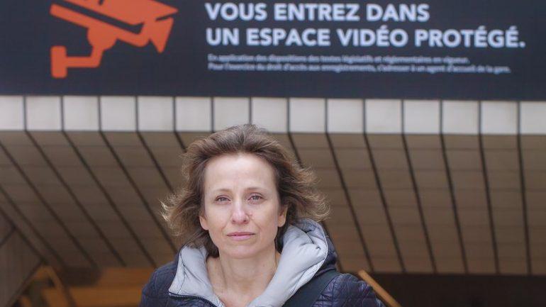 Flore Vasseur, à Lyon, en mars 2018 © Tim Douet